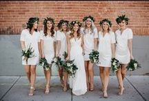 Bridesmaid Dresses / Bridesmaid dresses that both you and your entourage can agree on!