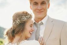 Romantic Bride & Groom Photos / Romantic wedding photography of in love couples on their special day!