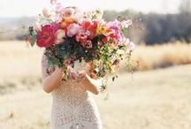 Wedding Flowers / Wedding flowers in beautiful bouquets and floral arrangements.