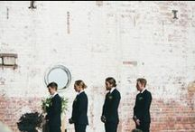 Groom & Groomsmen Style / Stylish looks for the groom & his groomsmen #weddings / by Wedding Party
