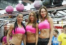 Our Gorgeous Girls! / Our gorgeous models who come back to workout with us at our events every year - we wouldn't have it any other way!