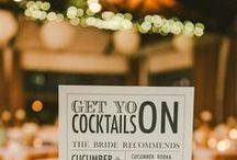 Wedding Cocktails / Wedding cocktails and drinks to serve at your wedding reception!