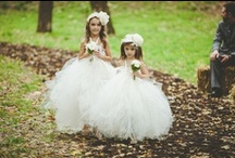 Flower Girls and Ring Bearers / Flower girls and ring bearers are the cutest little members of your wedding party!