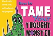 How to Tame Your Thought Monster / http://katiemcclain.com/howtotameyourthoughtmonster/