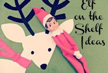 Elf on the shelf ideas / by Cherie Barlow
