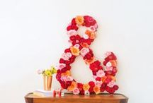 DIY Wedding Ideas / DIY wedding ideas for the bride to incorporate into her special day (and save some bucks!).
