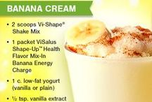 Visalus Recipes :) / Protein drinks and shakes / by Ashley Dickerson