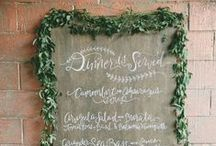 Reception Decor / Inspiration on how to make your wedding reception look perfect!