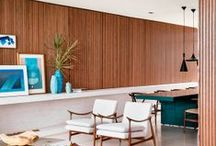 Mid Century Modern Today - Interiors / ideas to decorate the Mid Century home I will have someday. / by Cindy Vanden Bosch