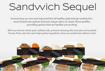 Lifestyle Foods Sandwiches / Healthy, grab-and-go sandwiches from Lifestyle Foods! Filling, delicious portions with 360 calories or less!