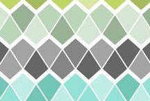Design/Pattern Inspiration / Design. Pattern. Color. Swoon.
