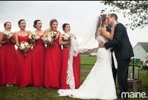 Ludholm Farm, Maine Wedding / gorgeous weddings Wells Reserve Maine farm, rustic weddings
