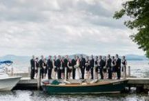Lake Side New Hampshire Weddings / wedding hairstyles that work well at stunning NH Lake side venues