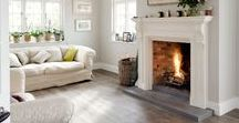 Fireplaces / Distinctive Interior Designs favorite inspiration for creating cozy, warm spaces.