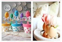 Easter Crafts and DIY / Easter crafts and home decor DIY projects.  Includes all types of crafts.