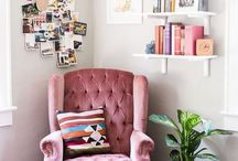 interior | living room pink / pink living room ideas