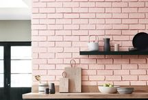 interior | kitchen pink / kitchen design all in pink selected by me