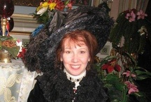 Victoriana Lady Lisa / Author/historian with antique traveling museum c. 1850-1919. Author of International Steampunk Fashions & upcoming book The Fashionable Victorians & Edwardians by Schiffer Publishing Ltd.