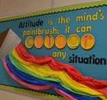 Bulletin Boards / Bulletin boards I've done and inspiration from others.