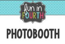 Photobooth / Photobooth props and backdrop ideas.