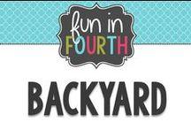 Backyard / Ways to perk up my backyard and make it more inviting and pretty!
