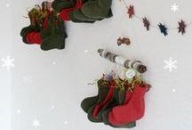 Noël - Calendriers de l'avent / Images inspirantes pour fabriquer de sonctueux calendrier de l'avent.