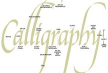 Calligraphy & Typography / by Suzette Spencer