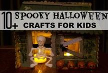 Seasonal: Halloween / Halloween Activities and Lesson Ideas for kids, crafts, games, art