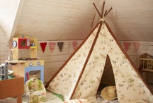 kids' special spaces / treehouses, reading nooks, tipis, lemonade stands and more!