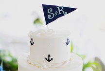 Nautical Nova Scotia Wedding / Great table layout and color .... I really like the low centre pieces, does anyone find centre pieces can block your views? / by Chantal Routhier