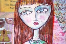 My Art Workshops / Online workshops with me, Rachelle Panagarry.  I'd love to see you in class.