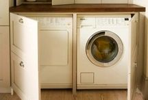 Laundry and Mud Room Ideas / I live in the laundry room. Shouldn't it at least be pretty?