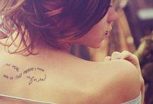 Tattoos / by Tia Buchanan