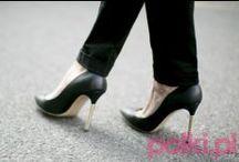 Czarne szpilki / Najmodniejsze modele czarnych szpilek - moda 2015 #moda #buty #shoes