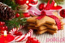 Boże Narodzenie wg Polki.pl / Ciasta, pieczenie, zupy, słodkości, tradycyjne bożonarodzeniowe potrawy. Mniam!