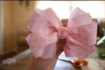 Hair Bows / Darling DIY hair accessories and bows! / by Whitney {Beauty in the Mess}