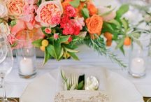 Wedding Inspiration - Centerpieces and Tablescapes