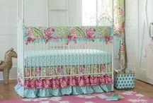 Girl Crib Bedding / by Carousel Designs