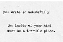 Beautiful Writing / by Amanda E