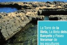 Folletos promocionales / Folletos editados por la Concejalía de Turismo de El Campello para la promoción turística del municipio