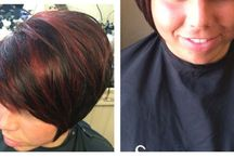 Hair styles @beauty within / Cuts/color