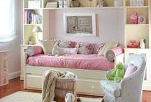 Room Ideas: Girl's / Great bedroom ideas for girls! / by Whitney {Beauty in the Mess}
