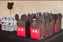 Parties: Mickey Mouse / Party ideas that center around Mickey Mouse! / by Whitney {Beauty in the Mess}