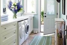 Room Ideas: Laundry Room / Innovative laundry room ideas! / by Whitney {Beauty in the Mess}