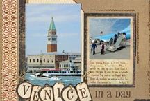My Scrapbook Pages -Travel