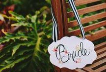 Weddings Inspiration - Signs