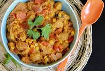 Dishes of India / Indian cooking