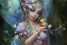 Fairies and gnomes / by Susi Sunflower