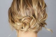 Summer Hairstyles / Hairstyles for Summer for long and short hair. Easy updos, mom styles. / by Whitney {Beauty in the Mess}