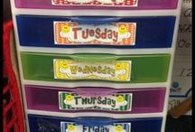 Organization / Organizing the classroom from top to bottom!